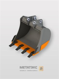 Универсальный ковш для Hitachi ZX25/ZX27/ZX30 (250 мм)