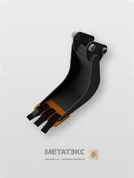Серповидный траншейный ковш для Hitachi ZX18 (250 мм)