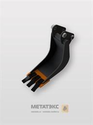 Серповидный траншейный ковш для Hitachi ZX25/ZX27/ZX30 (250 мм)