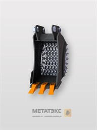 Цепной траншейный ковш для Hitachi ZX40/ZX45/ZX50 (400 мм)